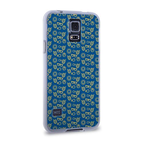 Чехол для Samsung Galaxy S5 силиконовый  Фото 02, Лето