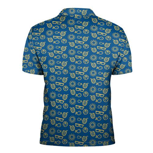 Мужская рубашка поло 3D  Фото 02, Лето