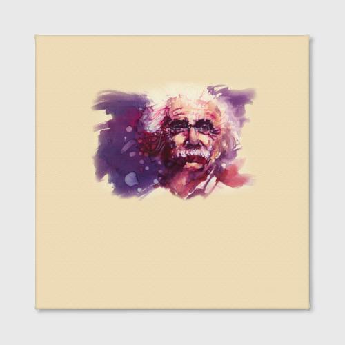 Холст квадратный  Фото 02, Альберт Эйнштейн (Art)