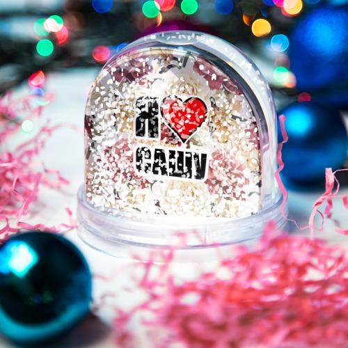 Водяной шар со снегом  Фото 04, Я люблю