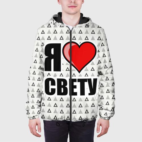 Мужская куртка 3D Я люблю Фото 01