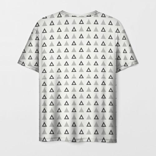 Мужская футболка 3D Я люблю Фото 01