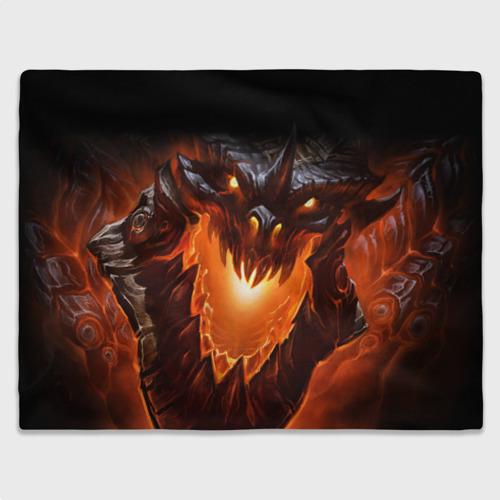 Плед 3D  Фото 03, Огнедышащий дракон