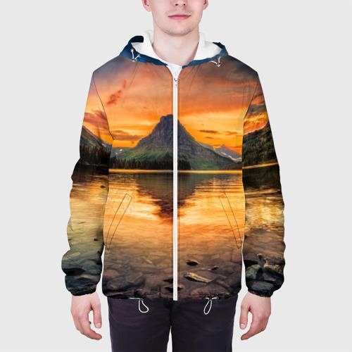 Мужская куртка 3D  Фото 04, Гора
