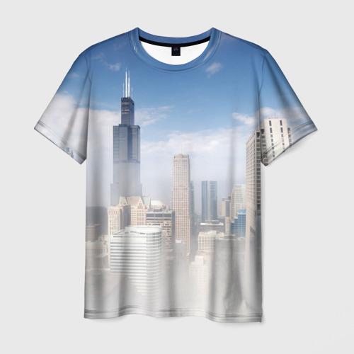 Мужская футболка 3D  Фото 01, Chicago
