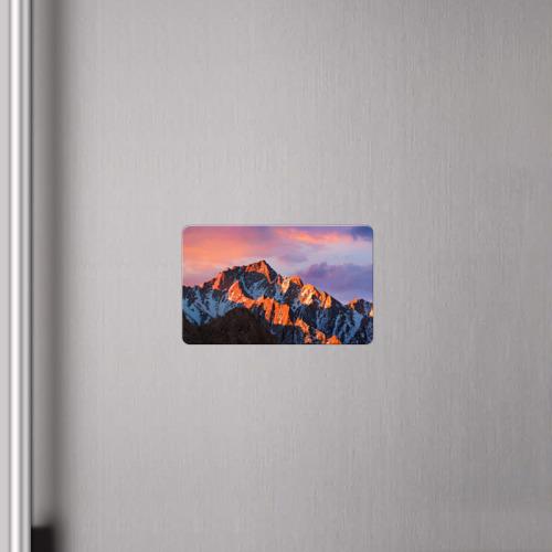 Магнит виниловый Visa  Фото 04, Горы