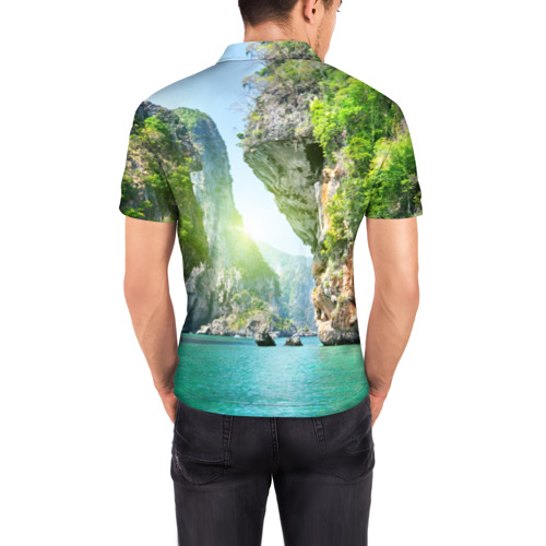Мужская рубашка поло 3D  Фото 04, Таиланд 2