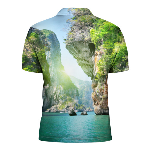 Мужская рубашка поло 3D  Фото 02, Таиланд 2