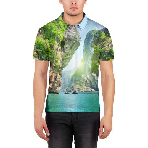 Мужская рубашка поло 3D  Фото 03, Таиланд 2