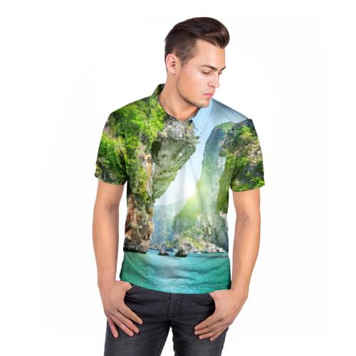Мужская рубашка поло 3D  Фото 05, Таиланд 2