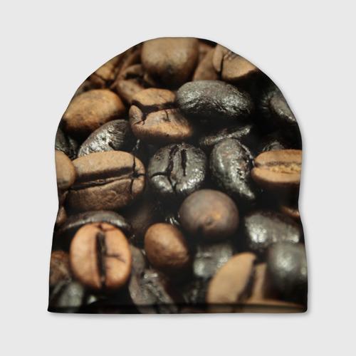 Шапка 3D  Фото 01, зерна кофе