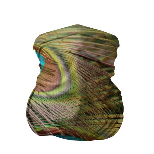 Бандана-труба 3D  Фото 01, перо павлина