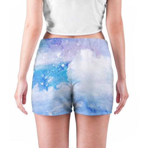 Женские шорты 3D  Фото 04, sea