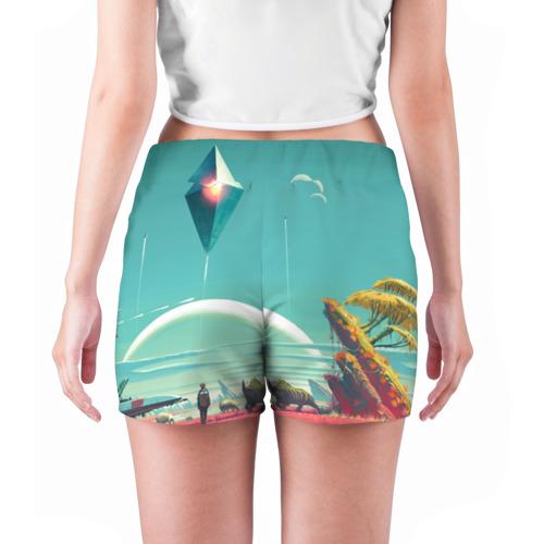 Женские шорты 3D  Фото 04, No Man's Sky