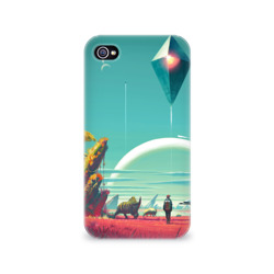 Чехол для Apple iPhone 4/4S 3DNo Man's Sky