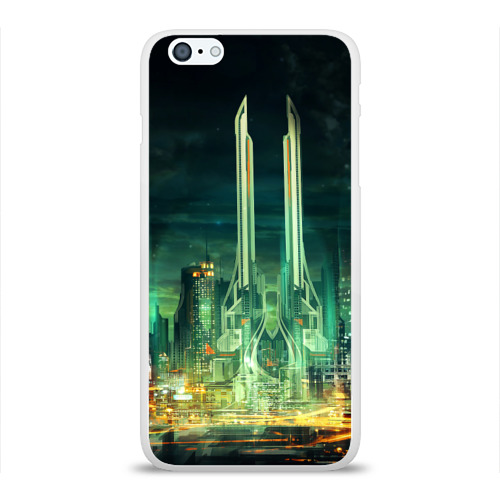 Чехол для Apple iPhone 6Plus/6SPlus силиконовый глянцевый  Фото 01, Град