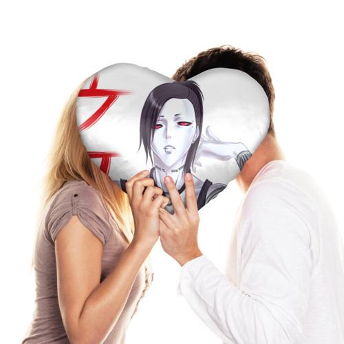 Подушка 3D сердце  Фото 03, Ута