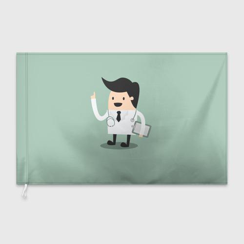 Флаг 3D  Фото 03, Доктор