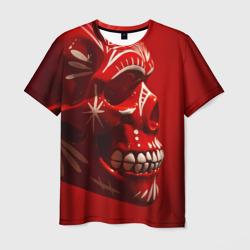 Красный череп - интернет магазин Futbolkaa.ru