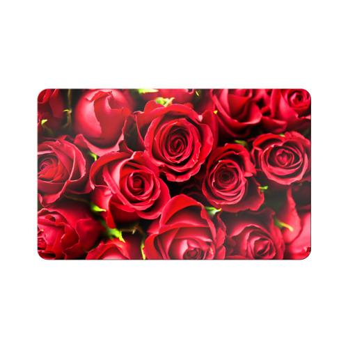 Магнит виниловый Visa  Фото 01, Розы