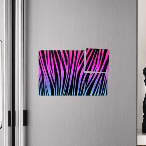 Магнитный плакат 3Х2  Фото 04, Зебра