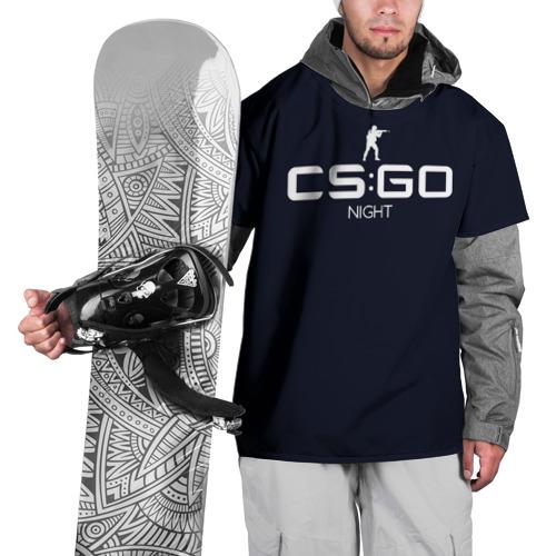 Накидка на куртку 3D  Фото 01, cs:go - Night style (Ночь)