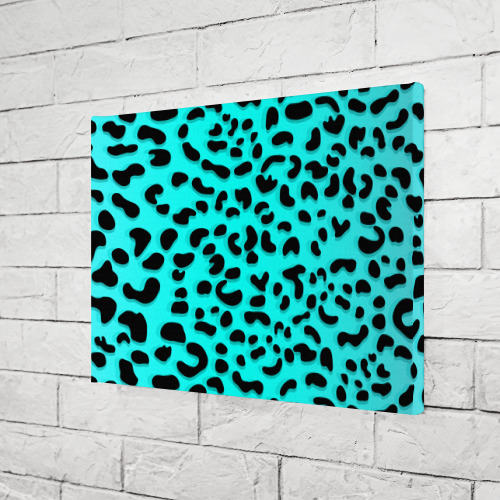 Холст прямоугольный Леопард Фото 01