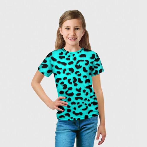 Детская футболка 3D Леопард Фото 01