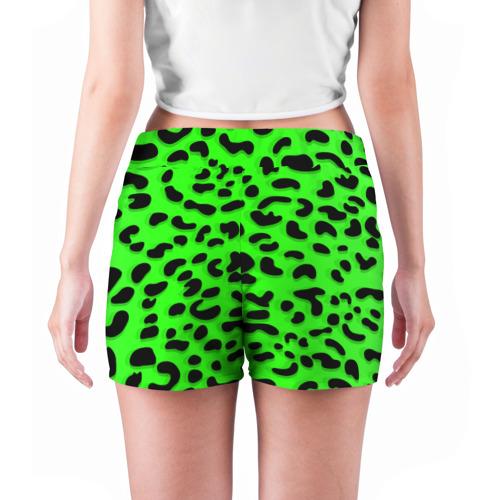 Женские шорты 3D  Фото 04, Леопард