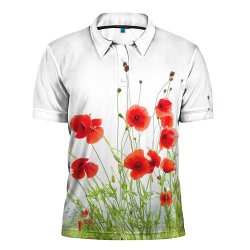 Мужская рубашка поло 3D Маки