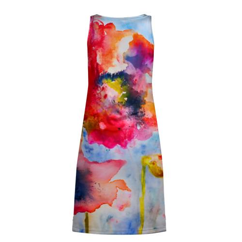 Платье-майка 3D  Фото 02, Маки