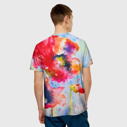 Мужская футболка 3D  Фото 02, Маки
