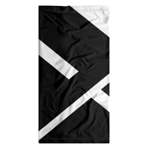 Бандана-труба 3D  Фото 07, Black and White