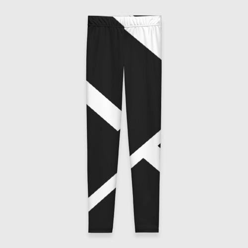 Леггинсы 3D Black and White Фото 01