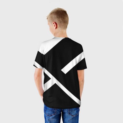 Детская футболка 3D  Фото 02, Black and White