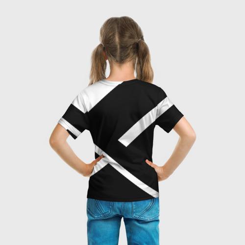 Детская футболка 3D  Фото 04, Black and White