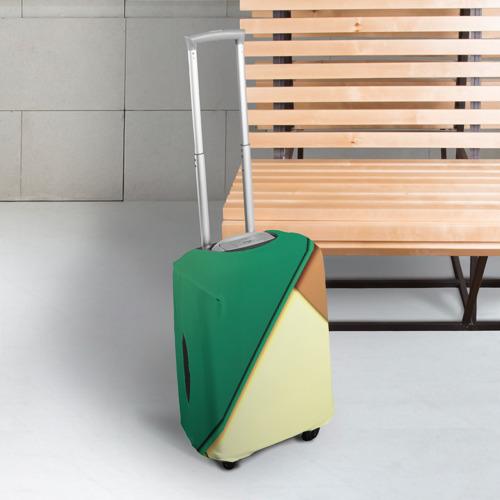 Чехол для чемодана 3D Material color Фото 01