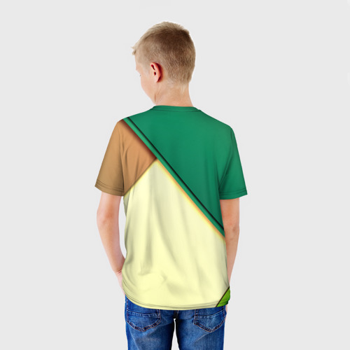 Детская футболка 3D Material color Фото 01