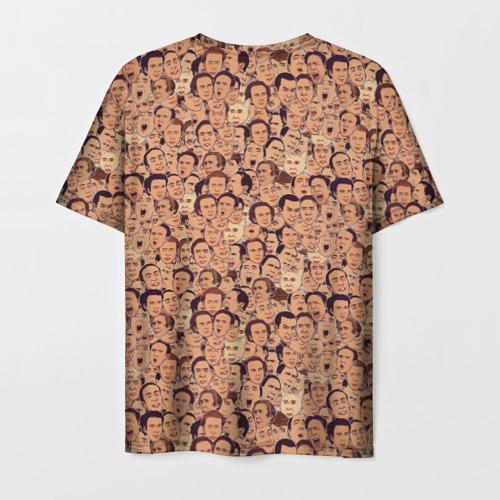 Мужская футболка 3D Николас Кейдж Фото 01