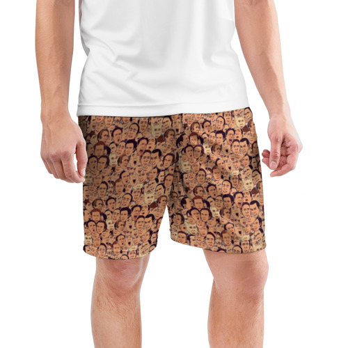 Мужские шорты 3D спортивные  Фото 03, Николас Кейдж