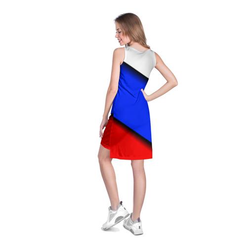 Платье-майка 3D  Фото 04, Российский флаг