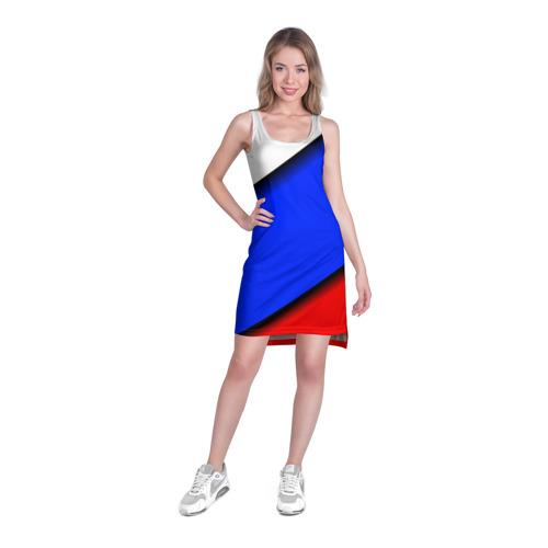 Платье-майка 3D  Фото 03, Российский флаг