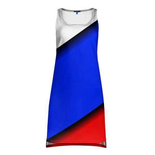 Платье-майка 3D  Фото 01, Российский флаг