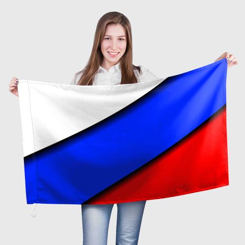 Флаг 3D  Фото 01, Российский флаг