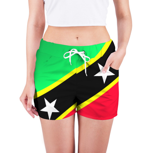 Женские шорты 3D  Фото 03, Флаг