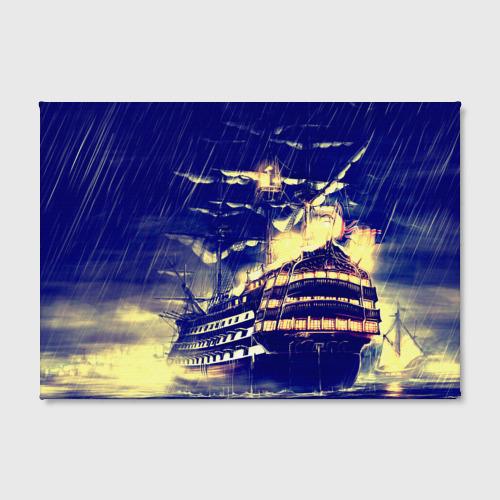 Холст прямоугольный  Фото 02, Корабль