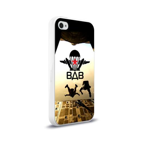 Чехол для Apple iPhone 4/4S силиконовый глянцевый  Фото 02, ВДВ