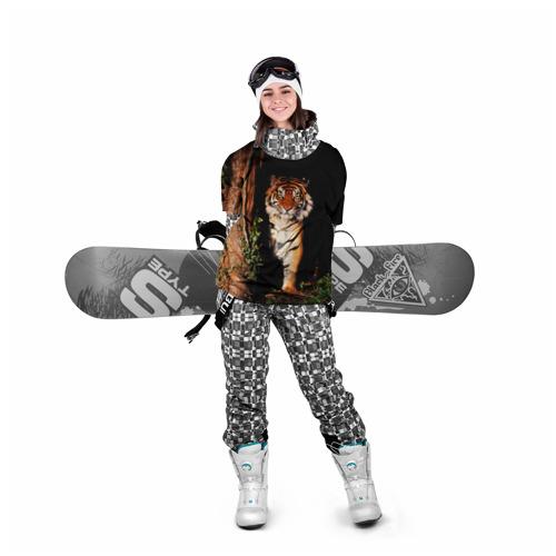 Накидка на куртку 3D  Фото 05, Тигр