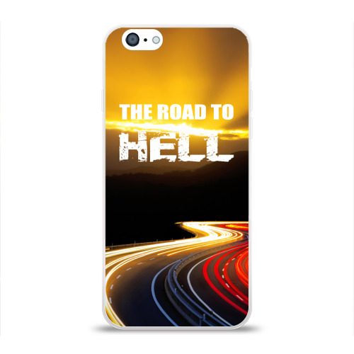 Чехол для Apple iPhone 6 силиконовый глянцевый  Фото 01, Дорога в ад