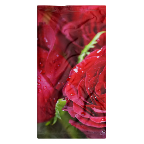 Бандана-труба 3D  Фото 06, Цветы